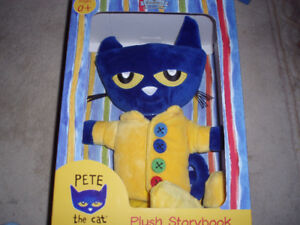 plush toys with soft book**brand new