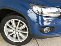 Volkswagen Tiguan 2.0 TDi BlueMotion Tech Sport 5dr DSG, Blue, £10,480