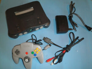 N64. One Controller  + Games. Looking to Trade