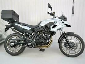 BMW F700 GS 2014 reg bike 5049 miles only excellent with full Vario luggage