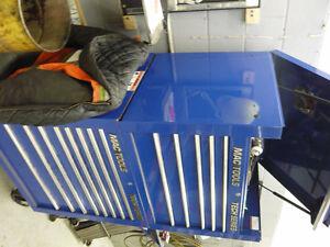 MAC and SNAP ON TOOL BOX BLUE LARGE LIKE NEW Kitchener / Waterloo Kitchener Area image 2