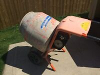 Electric cement mixer 4.5 cubic feet