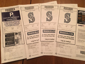 Seattle Mariners & blue jay tickets- $250 or best offer