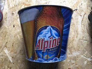 Man cave alpine lager ice bucket