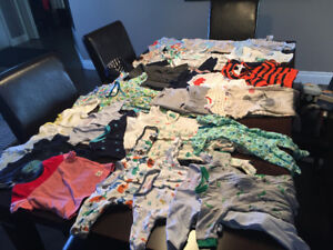 Full Lot of Baby Clothes (0-12 months) for Sale