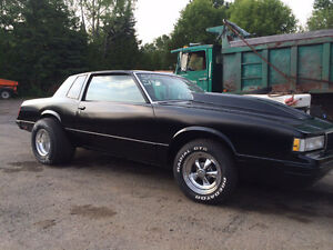 1988 Monte Carlo drag Car REDUCED