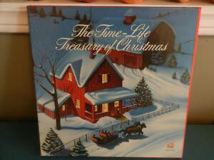 Vinyl Records The Time Life Treasury of Christmas 3 LP Box Set