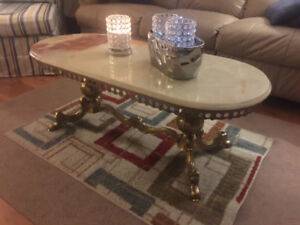 marble living rooms tables a set of 3