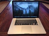 MacBook Pro (15-inch, Mid 2010) 2.4GHz Intel Core i5 320GB Hard drive