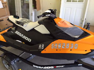 2015 Seadoo Spark 3Up 900 HO - Very Low Hours - Mint