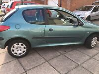 Peugeot 206 1.1 2002 STRICTLY NO OFFERS!!!!!