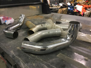 Kenworth exhaust pipes