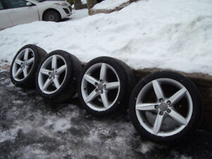 Audi A4 Sline mags and all season tires
