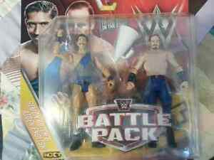WWE Battle Pack action figures