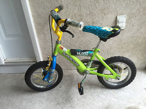 "12"" SUPERCYCLE KIDS BIKE WITH TRAINING WHEELS"