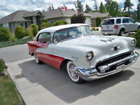 BEAUTIFUL RESTORED 1955 OLDS HOLIDAY 88 FOUR DOOR H T