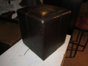 Chocolate Brown Colored Ottoman For Sale