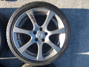 """18"""" 5x114.3  HFP rims and tire"""