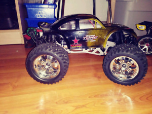Savage x nitro RC 4.6 limited edition truck