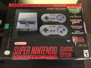 SNES Classic Mini System - Modded with hundreds of extra games!