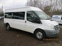 FORD TRANSIT MINIBUS WITH WHEELCHAIR ACCESS £9750+VAT