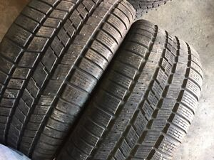 Winter tires pairs 15-16-17 inch check list for your size