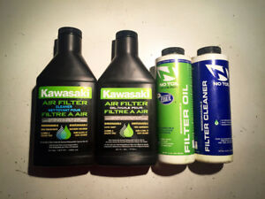No Toil & Kawasaki Filter Cleaners and Oils