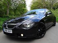 2006 56 BMW 650 4.8 (367 bhp) auto i Sport PANORAMIC GLASS ROOF VERY HIGH SPEC!!