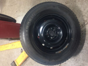 215/70/16 Winterforce tires/steel rims - used one season only