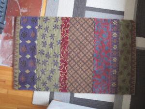 Pottery Barn 3x5 wool rug