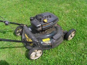 """Yard Works 22"""" Cut Lawn Mower"""