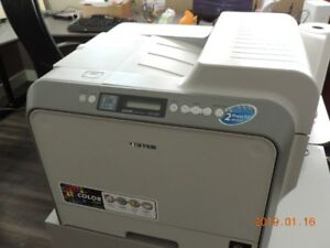 Samsung Colour CLP-500 dual sided laser printer