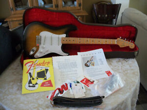 NEW 1994/1954 REISSUE FENDER STRATOCASTER 40TH ANN 1 OF 1954