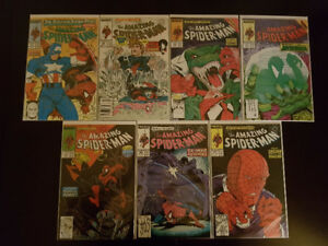 The Amazing Spider-Man Todd McFarlane lot!