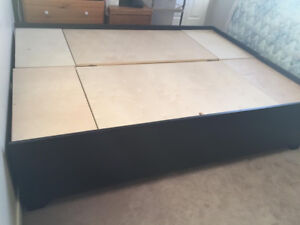 Queen size bed frame for sale!