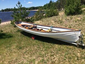 Classic Whitehall Spirit® 17 Double Slide Seat Sculling Rowboat Kawartha Lakes Peterborough Area image 1