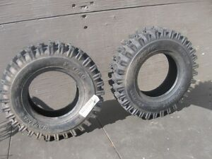 BRAND-NEW NEVER MOUNTED CARLISLE SNOWBLOWER TIRES.