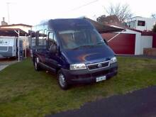 2004 FIAT M/HOME DUCATO JAYCO LAYOUT 2.8 TURBO DIESEL 5SP ABS Midway Point Sorell Area Preview