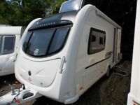 Bessacarr Cameo 495 2014 Luxury 2 Berth Touring Caravan With Many Extras