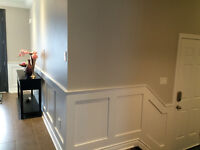 ADD WAINSCOTING TO YOUR STAIRS 647-667-2181