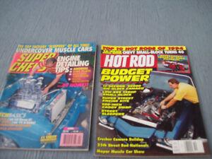 2-REVUES AUTOMOBILES,SUPER CHEVY ET HOT ROD,SOUVENIRS 1994.