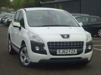 2012 Peugeot 3008 1.6 HDi Active 5dr SUV Diesel Manual