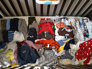 Large lot of baby boy clothes  - over 65 items