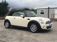 2012 MINI COOPER D **ONLY 30k MILES** DIESEL CONVERTIBLE