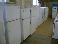 Large selection of fridges. 90 day warranty. $249 and up.