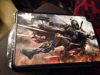iPad mini cover case new Star Wars bubbaphet boy lad bundle