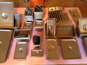 Stainless Inserts Lids Chaffers and Warmers $375