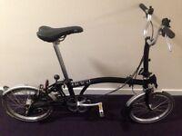 Brompton M3L Folding Bike Excellent Condition