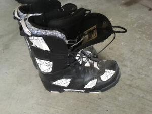 SIMS Snowboard Boots size 10 mens