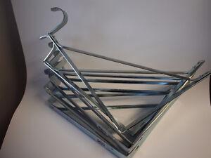 8 Chrome Shelf and Rod Brackets
